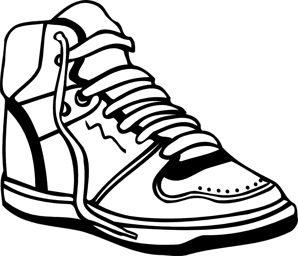 Illustration of a sneaker : Free Stock Photo