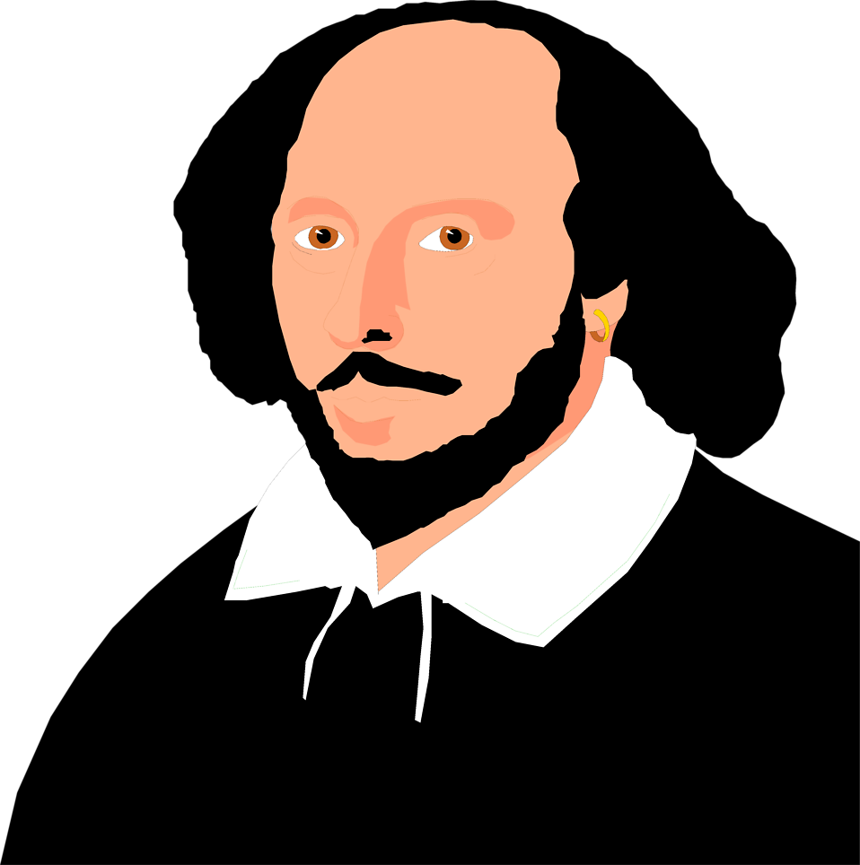 Illustration of William Shakespeare : Free Stock Photo