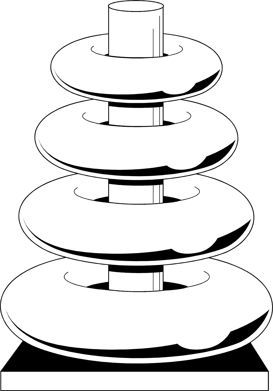 Illustration of a ring toy : Free Stock Photo