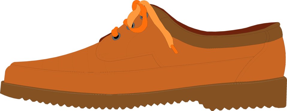 Illustration of a brown shoe : Free Stock Photo