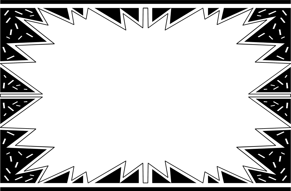 Illustration of a blank star burst : Free Stock Photo