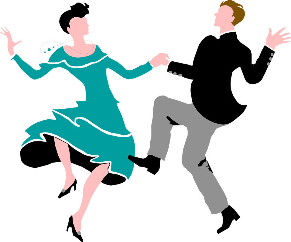Illustration of a couple dancing : Free Stock Photo