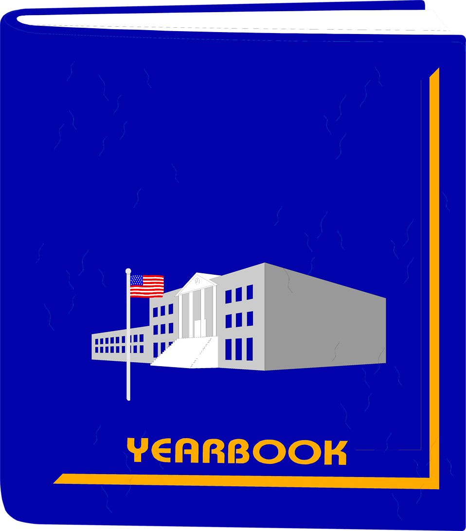 Illustration of a school yearbook : Free Stock Photo
