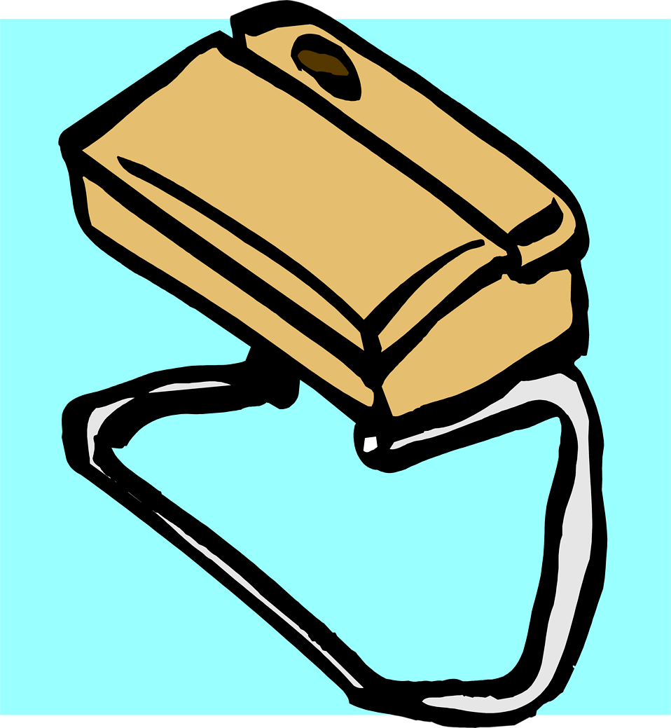 Illustration of a brown purse : Free Stock Photo