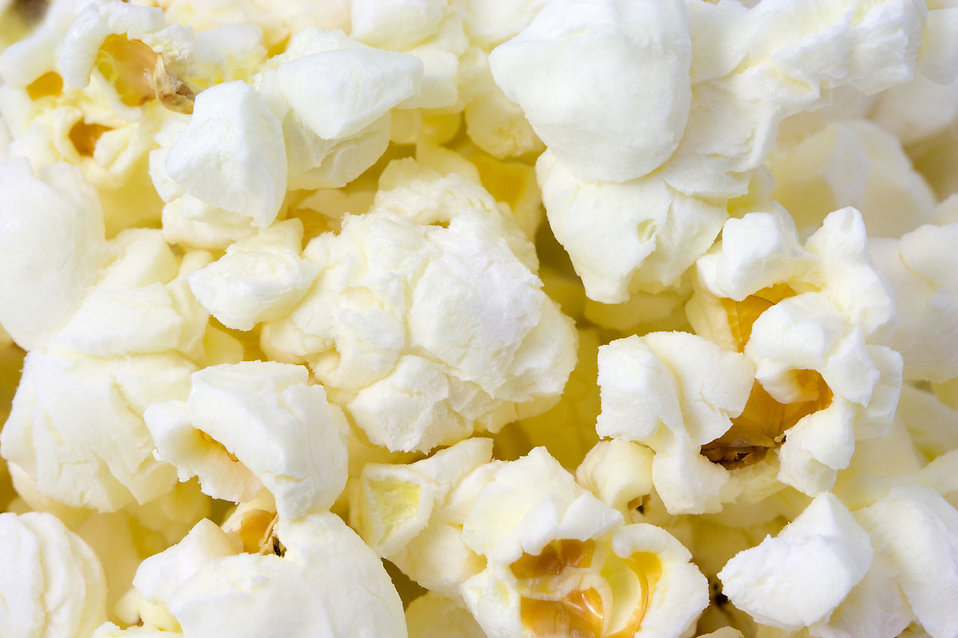 Close-up of popcorn : Free Stock Photo