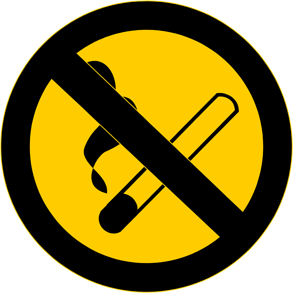 free clipart no smoking symbol - photo #44