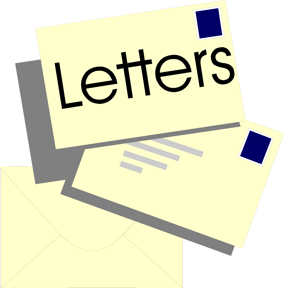 Illustration of a stack of letters : Free Stock Photo