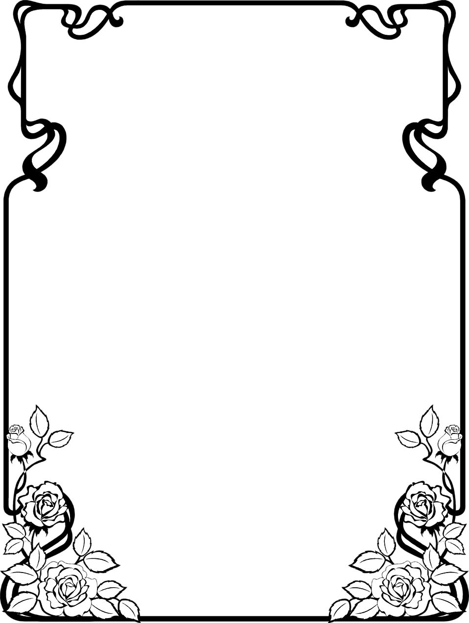 heart clipart border. 2011 heart clipart black and