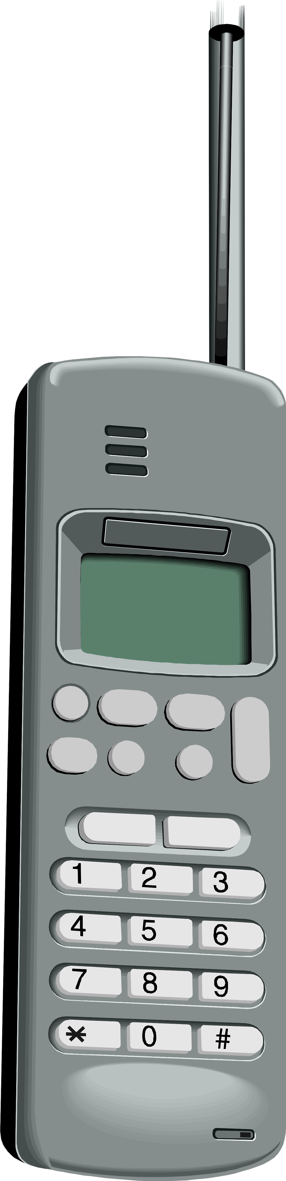 Illustration of a cell phone : Free Stock Photo