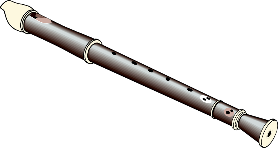 Illustration of a recorder flute : Free Stock Photo
