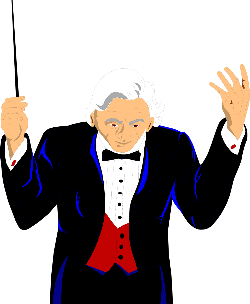 Illustration of a conductor : Free Stock Photo
