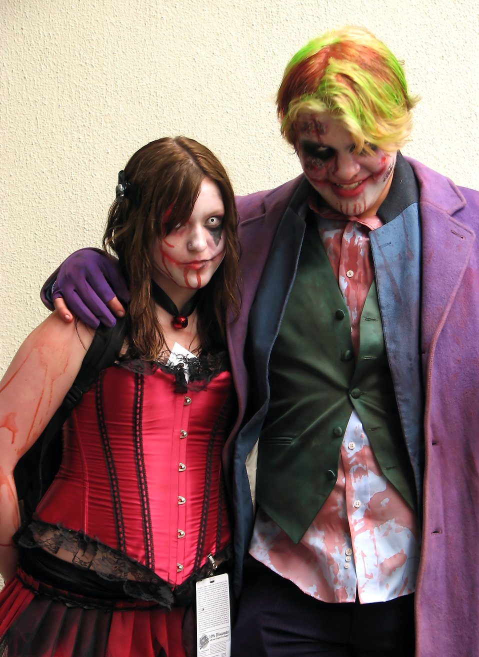 A couple in costumes at Dragoncon 2009 in Atlanta, Georgia : Free Stock Photo
