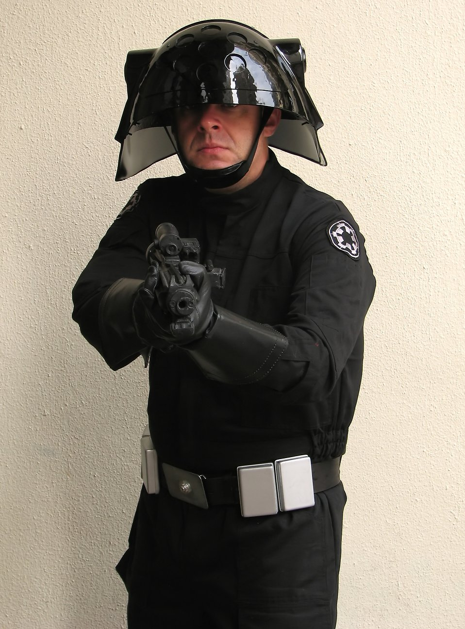 A man in an Imperial costume at Dragoncon 2009 in Atlanta, Georgia : Free Stock Photo