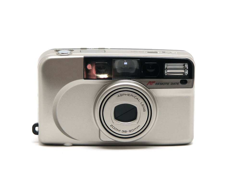 A small camera isolated on a white background : Free Stock Photo