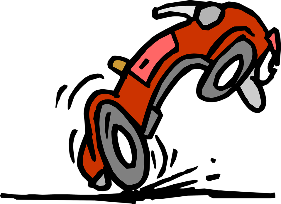 Illustration of a car cartoon : Free Stock Photo