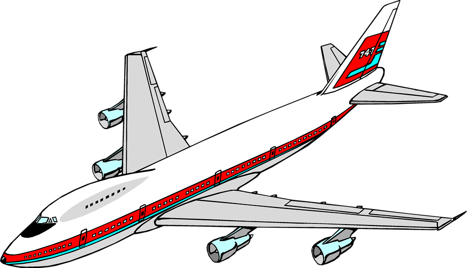 airplane clipart transparent background - photo #4