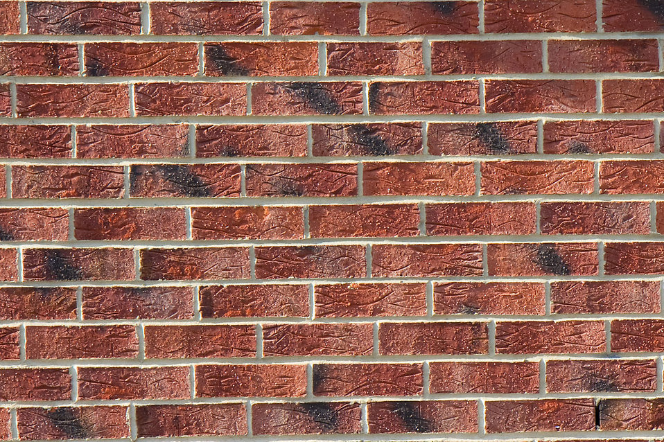 Close-up of a brick wall : Free Stock Photo