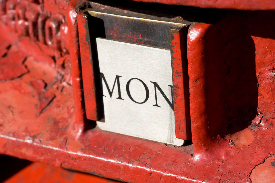 Close-up of a British postbox : Free Stock Photo