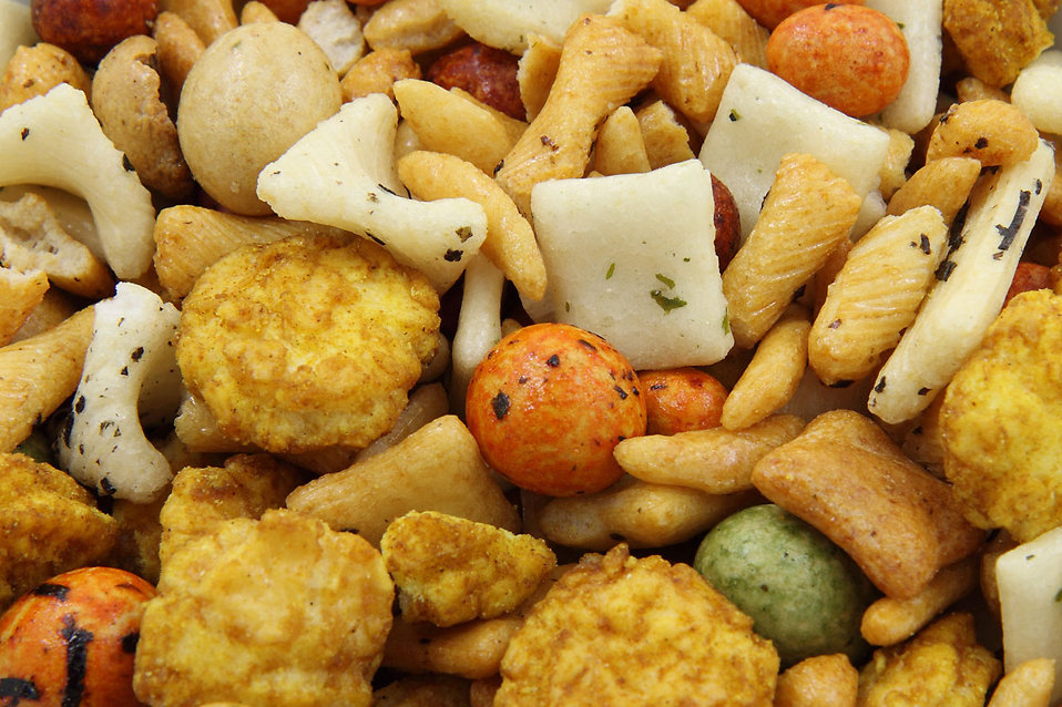 Close-up of rice crackers : Free Stock Photo