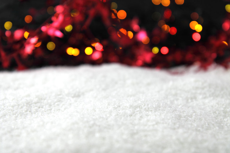 Snow and Christmas background : Free Stock Photo