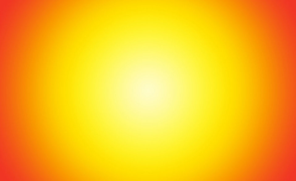 A yellow and orange starburst gradient : Free Stock Photo