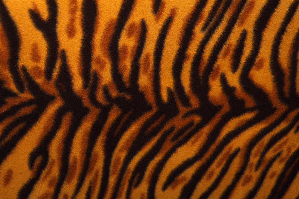 An artificial tiger stripe pattern : Free Stock Photo