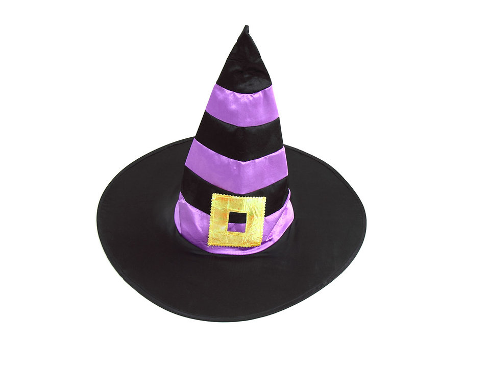 A Halloween witch hat : Free Stock Photo