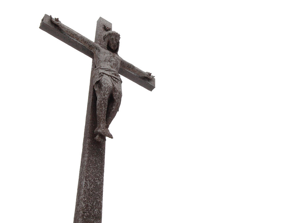 A cross with Jesus Christ : Free Stock Photo