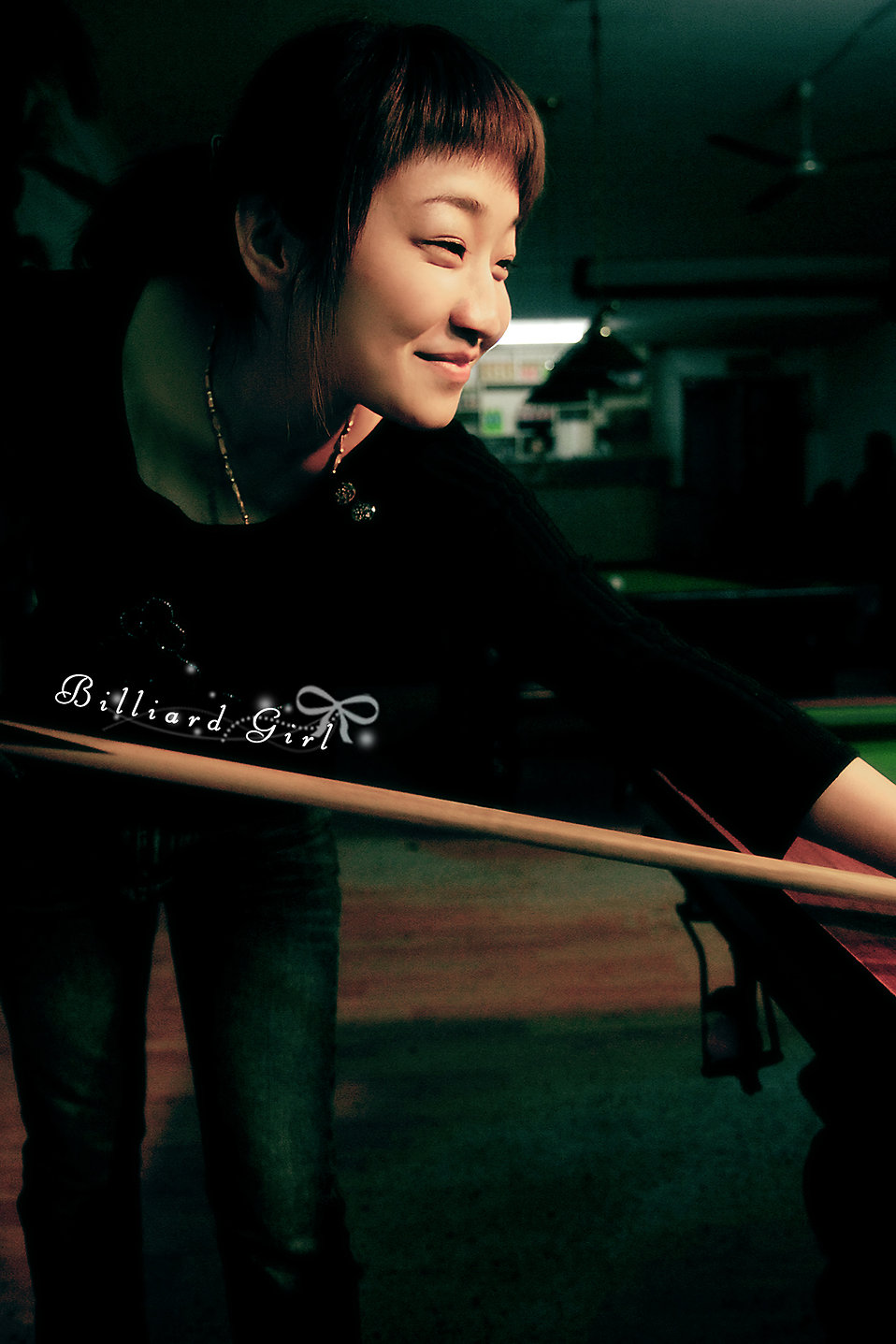 billiards girl