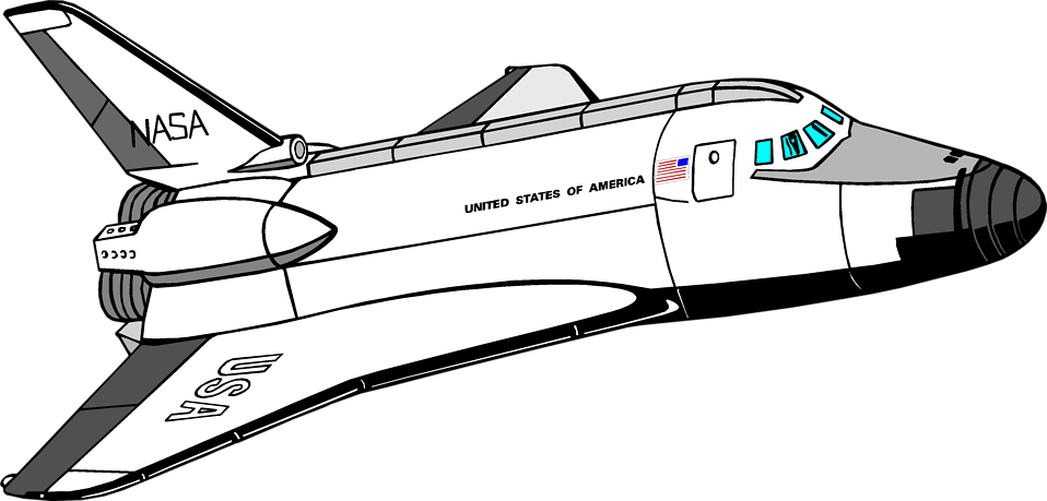 Illustration of the space shuttle : Free Stock Photo