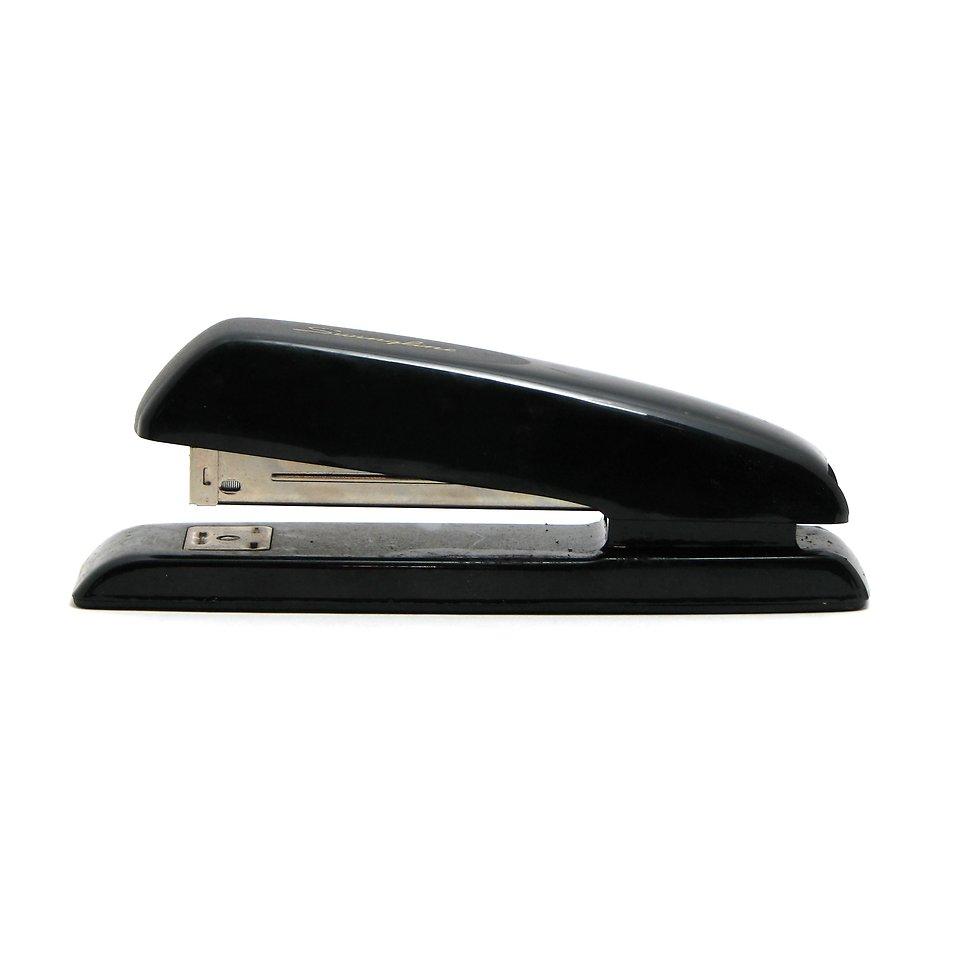 Stapler Free Stock Photo A Black Stapler Isolated On A White Background 9543