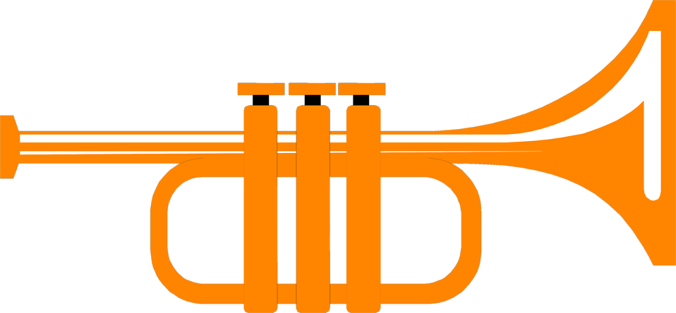 Illustration of a trumpet : Free Stock Photo