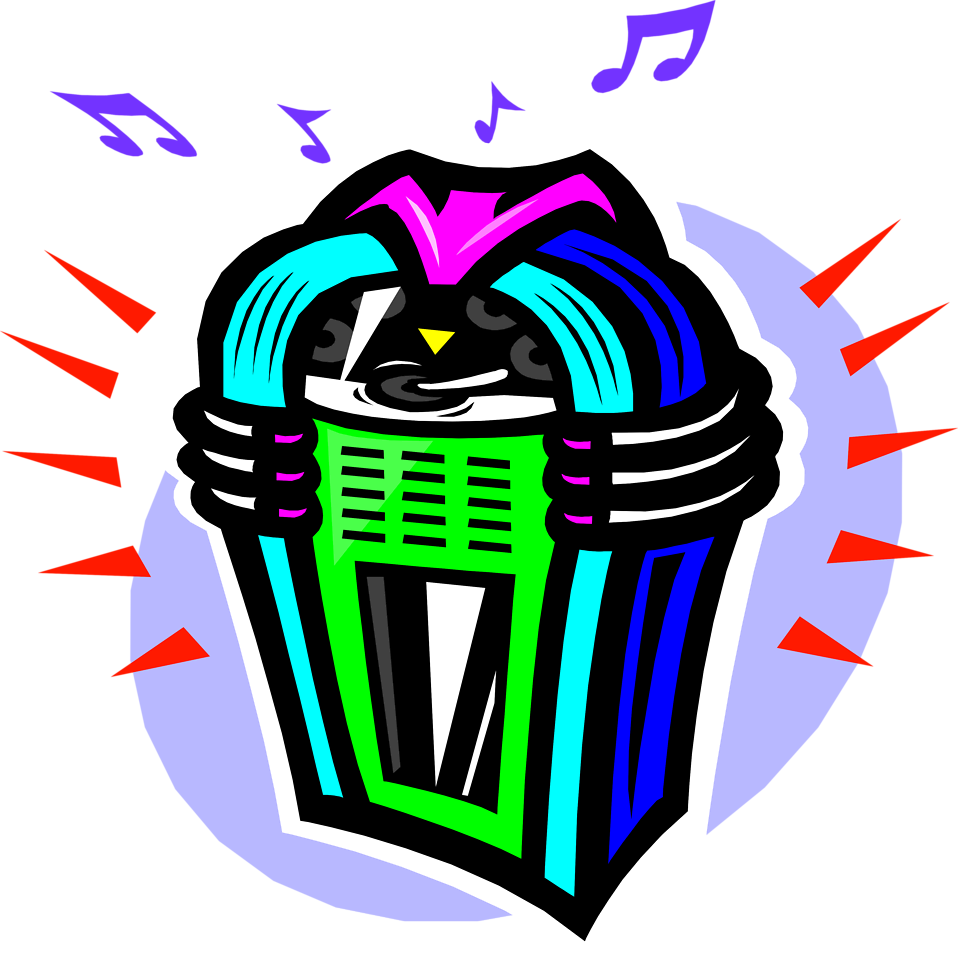 Illustration of a jukebox : Free Stock Photo