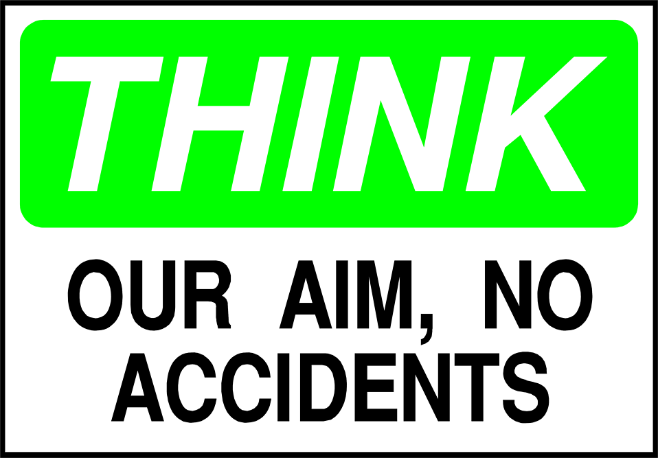 Warning Sign | Free Stock Photo | Illustration of a no accident ...