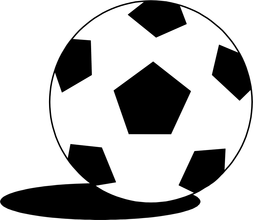 Illustration of a soccer ball : Free Stock Photo