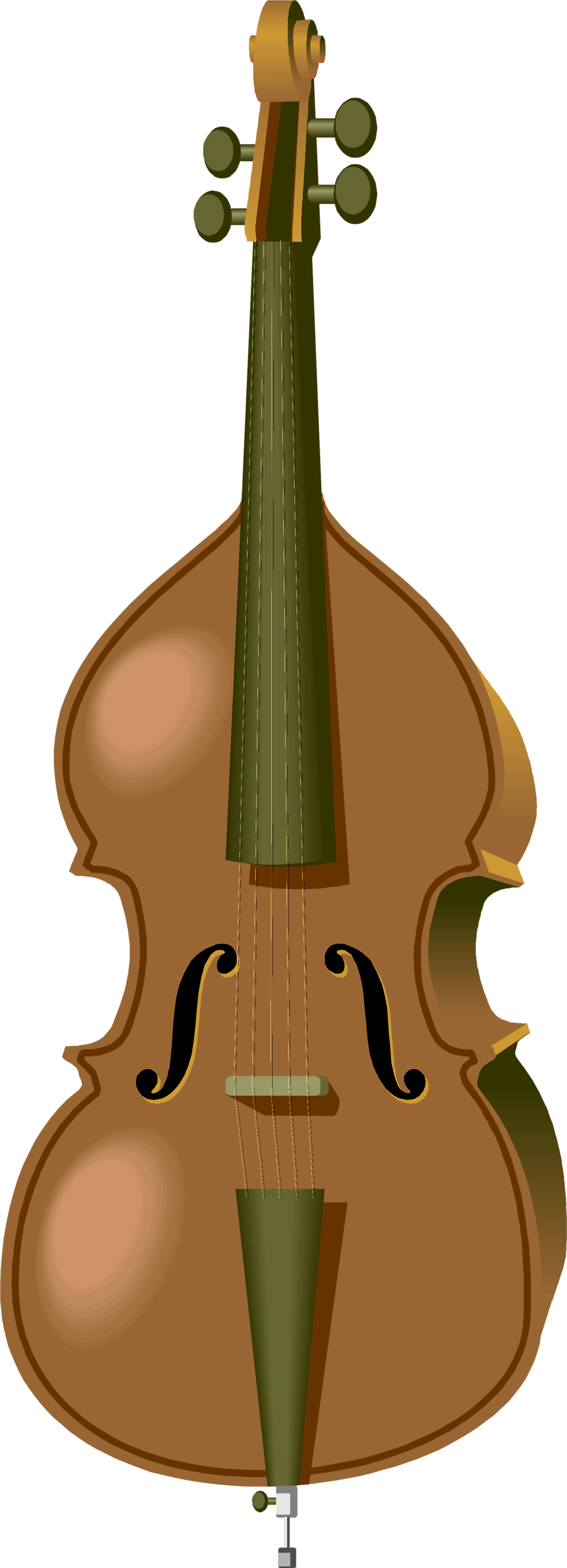 Illustration of a cello : Free Stock Photo
