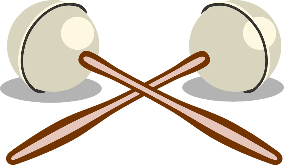 Illustration of a pair of maracas : Free Stock Photo