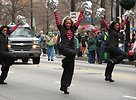 Free Stock Photo: Beautiful cheerleaders in the 2010 Atlanta Saint Patrick's Day Parade