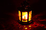 Free Stock Photo: A Christmas lantern