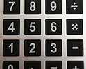 Free Stock Photo: Close-up of buttons on a calculator