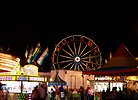 Free Stock Photo: A carnival at night time