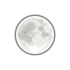 Free Stock Photo: Illustration of the full moon