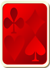 Free Stock Photo: Illustration of a card deck back