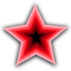 Free Stock Photo: Illustration of a red star