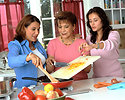 Free Stock Photo: Hispanic women preparing food