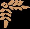 Free Stock Photo: Illustration of a brown upper left frame corner