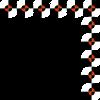 Free Stock Photo: Illustration of an upper right modern frame border