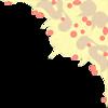 Free Stock Photo: Illustration of a decorative upper right frame corner