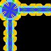Free Stock Photo: Illustration of a decorative upper left frame corner