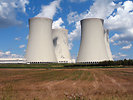 Free Stock Photo: Nuclear cooling towers